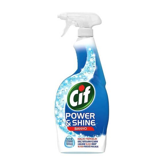 Cif Power & Shine Banyo Temizleyici Sprey 750 ml