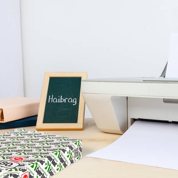 Copier Bond A4 Fotokopi Kağıdı 80 gr 1 Koli 5 Paket (2.500 Sayfa)