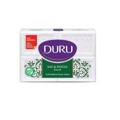 Duru Saf & Doğal Klasik Beyaz Kalıp Sabun 600 gr
