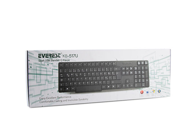 Everest KB-517U USB Q Standart Klavye - Thumbnail