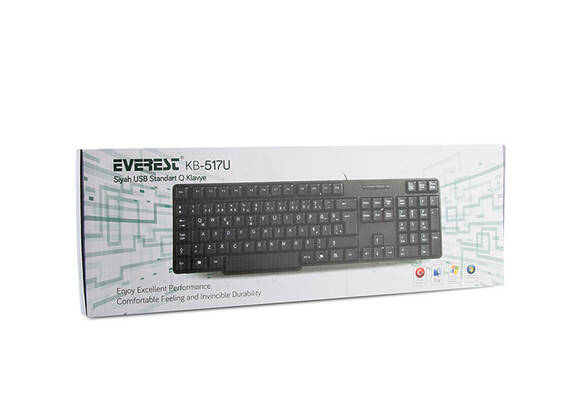 Everest KB-517U USB Q Standart Klavye