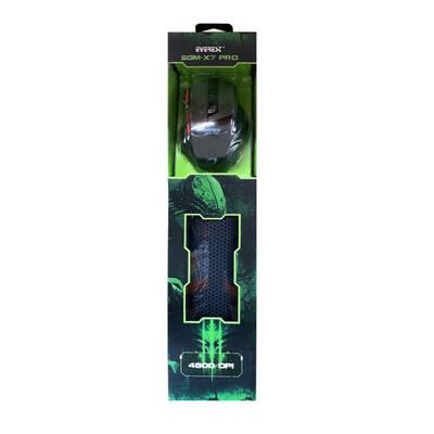 Everest SGM-X7 PRO USB Siyah Oyuncu Mouse + Mouse Pad