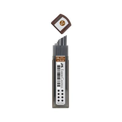 Faber Castell Min Super Fine 05mm 2B 60mm 127820 20'li Tüp