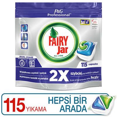 Fairy Professional Hepsi Bir Arada Bulaşık Makinesi Tableti 115'li - Thumbnail