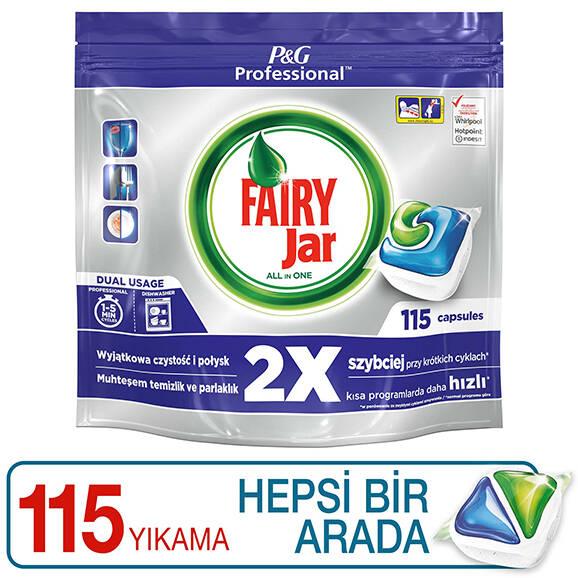 Fairy Professional Hepsi Bir Arada Bulaşık Makinesi Tableti 115'li