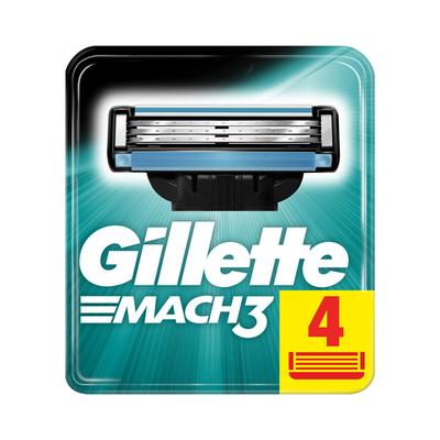 Gillette Mach3 Yedek Tıraş Bıçağı 4'lü - Thumbnail