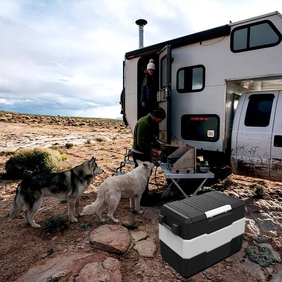 Iceco YCD60S 12-24Volt 56 Litre Outdoor Kompresörlü Oto Buzdolabı