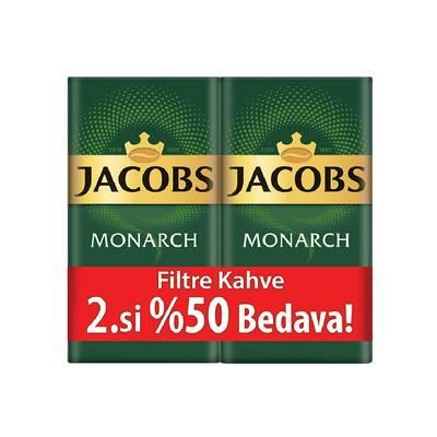 Jacobs Monarch Filtre Kahve İkili 500 gr Alana 2.si %50 İndirimli