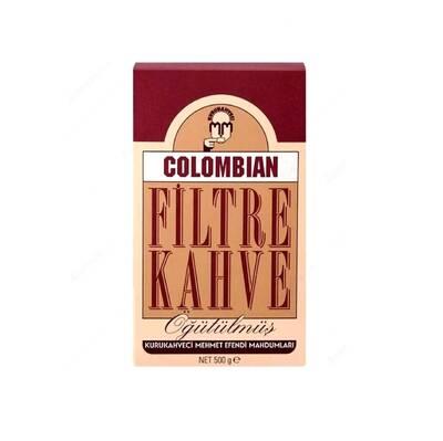 Kurukahveci Mehmet Efendi Colombian Filtre Kahve 500 gr
