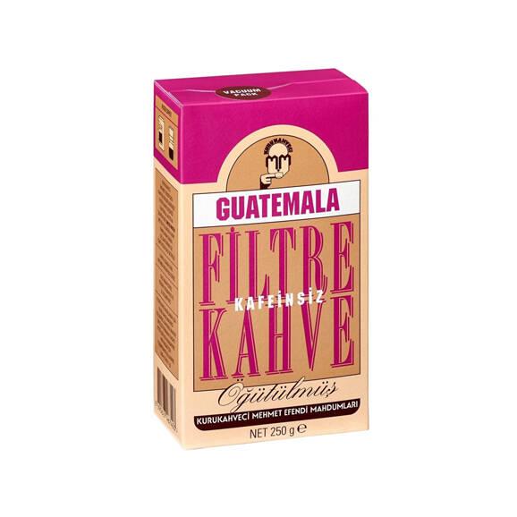 Kurukahveci Mehmet Efendi Guatemala Kafeinsiz Filtre Kahve 250 gr