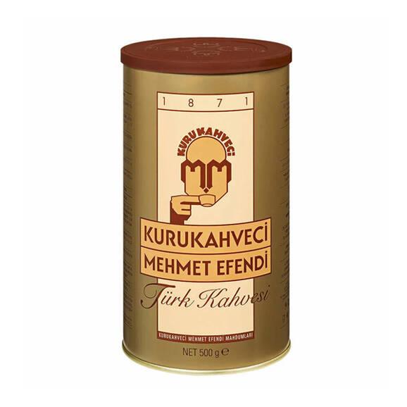 Kurukahveci Mehmet Efendi Türk Kahvesi Teneke Kutu 500 gr