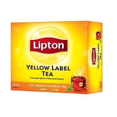 Lipton Yellow Label Tea Bardak Poşet Çay 100'lü
