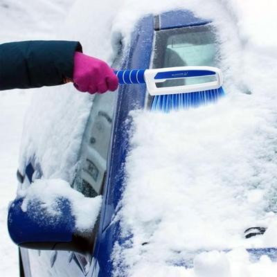 Michelin MC6466 3'ü Bir Arada Kar Fırçası ve Buz Kazıyıcı, Silecek Temizleyici - Thumbnail