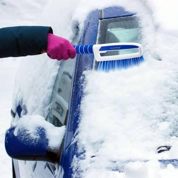 Michelin MC6466 3'ü Bir Arada Kar Fırçası ve Buz Kazıyıcı, Silecek Temizleyici