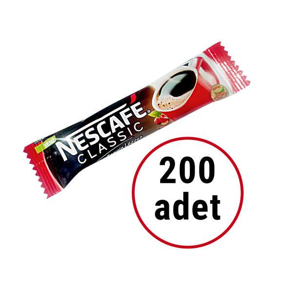 Nescafe Classic Kahve 2 gr 200'lü Paket