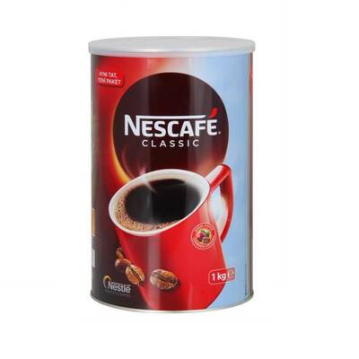 Nescafe Classic Teneke 1 kg ( 2 Adet Alana Termos Hediye )