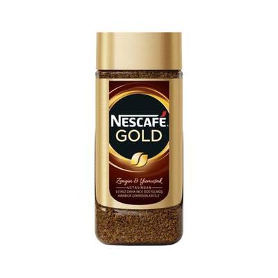 Nescafe Gold Kahve Cam Kavanoz 200 gr