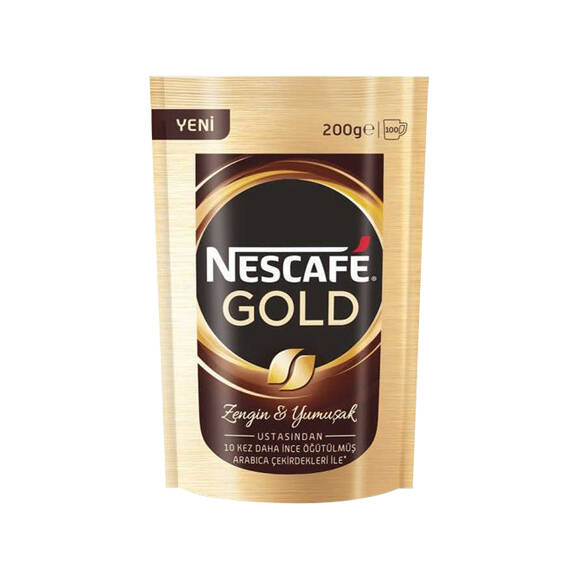 Nescafe Gold Kahve Ekopaket 200 gr