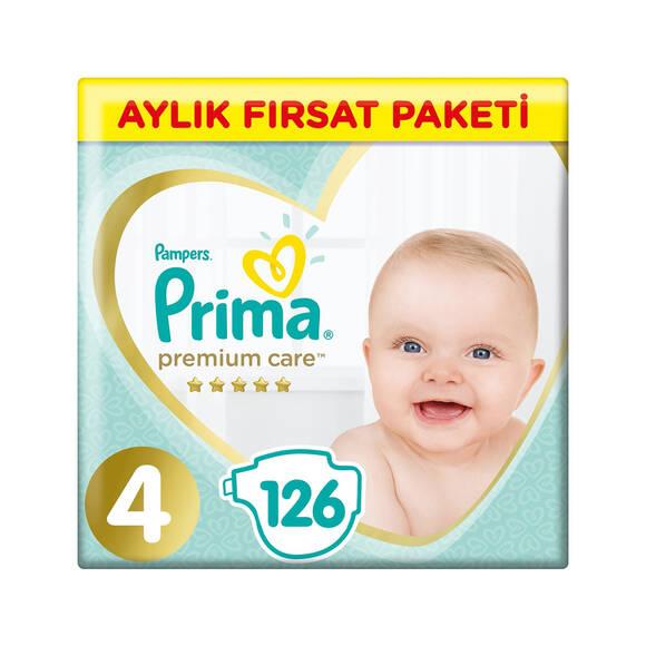 Prima Premium Care Bebek Bezi No:4 Maxi 9-14 kg 126 Adet