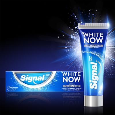 Signal White Now Anında Beyazlık Diş Macunu 75 ml - Thumbnail