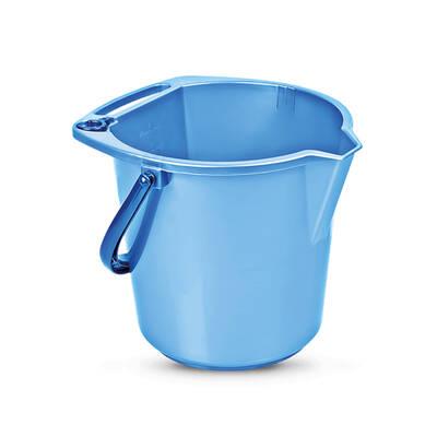 Titiz Plastik TP-132 - 304oz Temizlik Kovası 9 lt Mavi