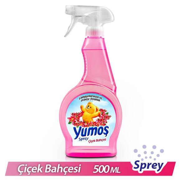 Yumoş Oda ve Çamaşır Parfümü Çiçek Bahçesi Sprey 500 ml